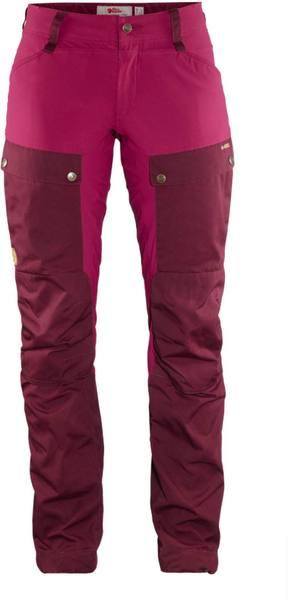 Fjällräven Keb Trousers Curved Women'S Dark Garnet/Plum