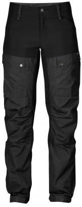 Fjällräven Keb W Trousers Curved 2018 Black/Grey