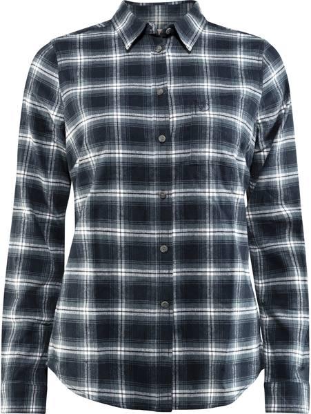 Fjällräven Övik Flannel W Ls Shirt Dark Navy