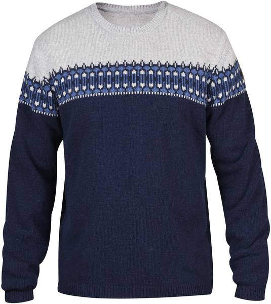 Fjällräven Övik Scandinavian Sweater M Dark Navy