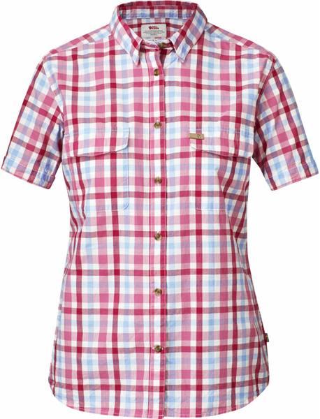 Fjällräven Övik Shirt Ss Women Red