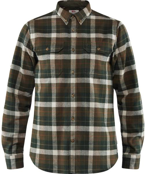 Fjällräven Singi Heavy Flannel Shirt Deep Forest