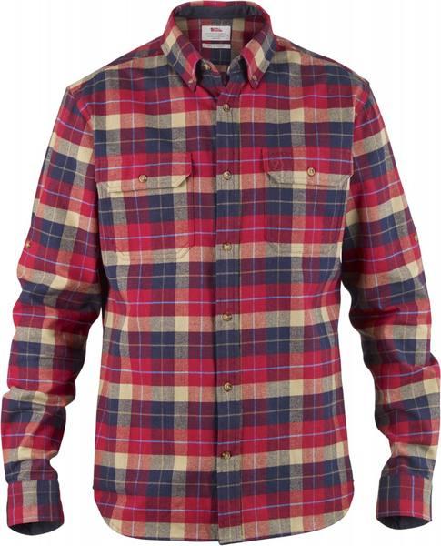 Fjällräven Singi Heavy Flannel Shirt Red