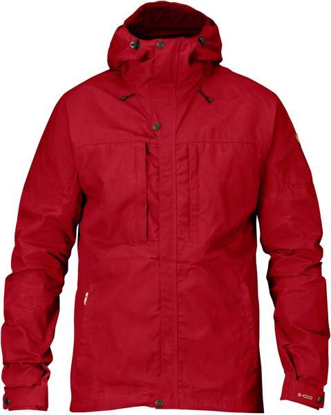 Fjällräven Skogsö Jacket Dark Red