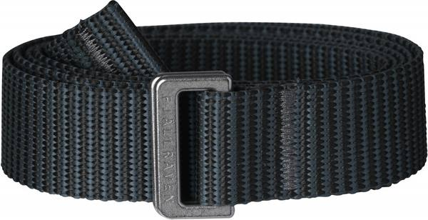 Fjällräven Striped Webbing Belt Women'S Black