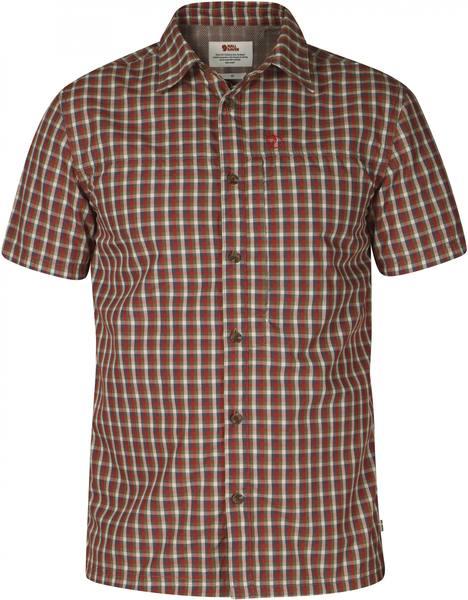 Fjällräven Svante Shirt Comfort Fit Deep Red
