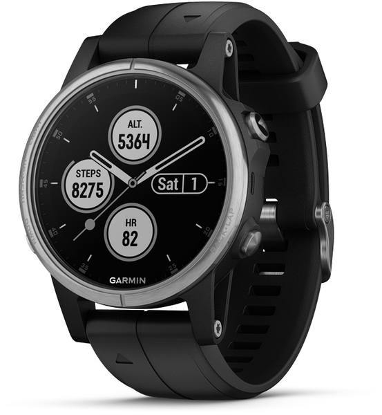 Garmin Fenix 5S Plus Glass Silver