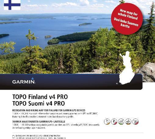 Garmin Topo Suomi Pro V4 Kartta Koko Suomi
