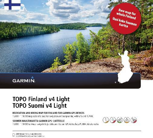Garmin Topo Suomi V4 Light Koko Suomi