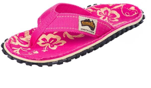 Gumbies Women'S Islander Pink Hibiscus
