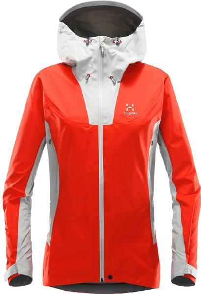 Haglöfs Kabi K2 Jacket Women'S Red/Grey
