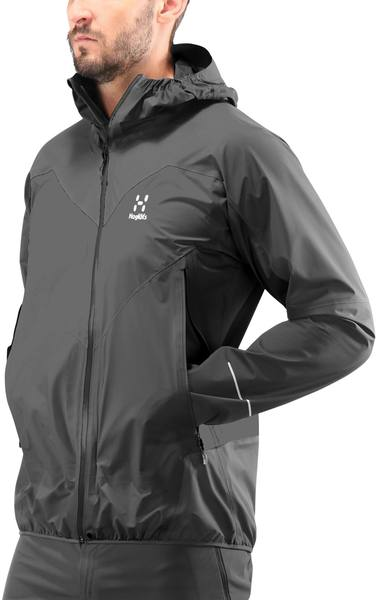 Haglöfs L.I.M Comp Jacket Men Dark Grey