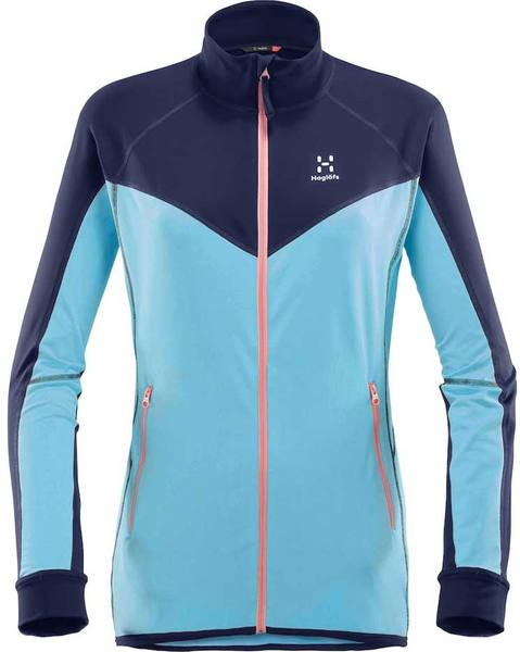 Haglöfs Lithe Jacket Women Blue Fox
