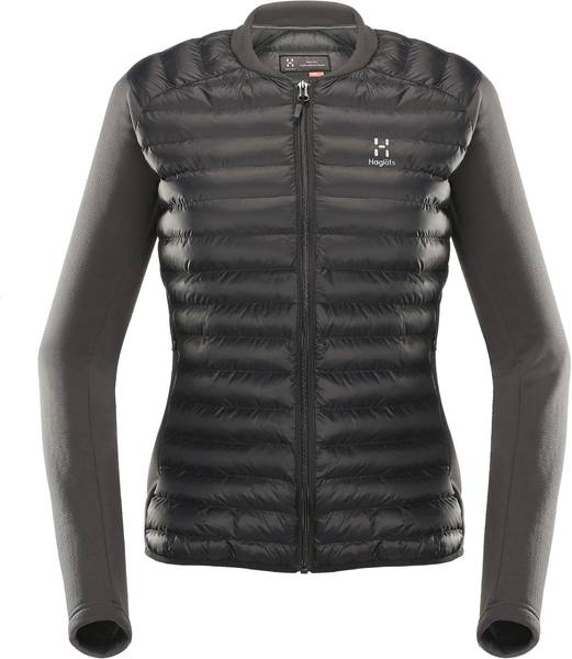 Haglöfs Mimic Hybrid Jacket Women'S Black/Grey