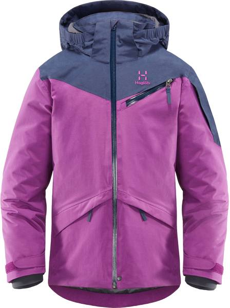 Haglöfs Niva Insulated Jacket Junior Lila