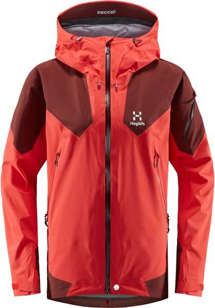 Haglöfs Roc Spire Women Jacket Punainen