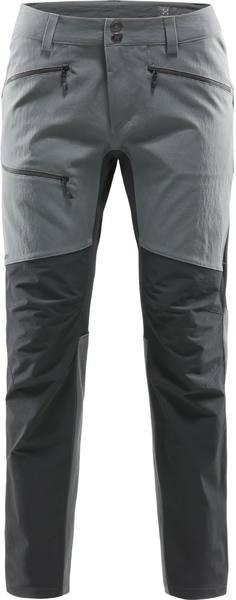 Haglöfs Rugged Flex Pants Women'S Harmaa / Musta