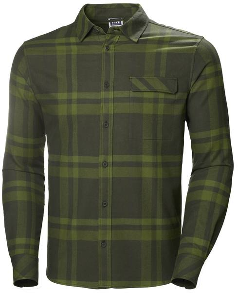 Helly Hansen Classic Check Ls Shirt Forest