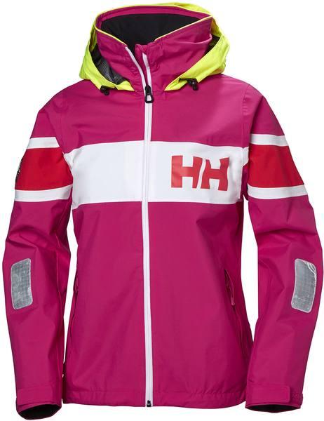 Helly Hansen Salt Flag Women'S Jacket Dragonfruit