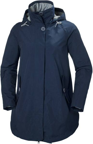 Helly Hansen Women'S Elements Summer Coat Dark Blue