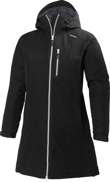 Helly Hansen Women'S Long Belfast Winter Jacket Black