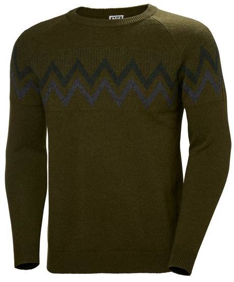 Helly Hansen Wool Knit Sweater Forest