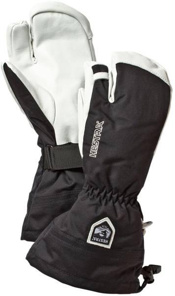 Hestra Army Leather 3-Finger Mitt Black