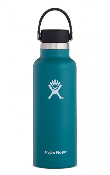Hydro Flask 18 Oz Standard Mouth Flex Cap Jade