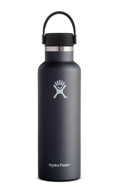 Hydro Flask 21 Oz Standard Flex Cap Black