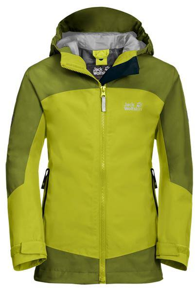 Jack Wolfskin Akka Jacket Boys Lime