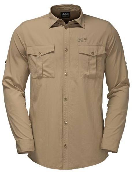 Jack Wolfskin Atacama Roll-Up Shirt Sand