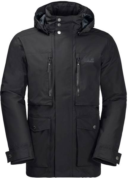 Jack Wolfskin Bridgeport Bay Jacket Men Black