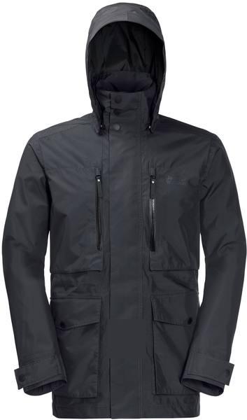 Jack Wolfskin Bridgeport Jacket Men Dark Grey