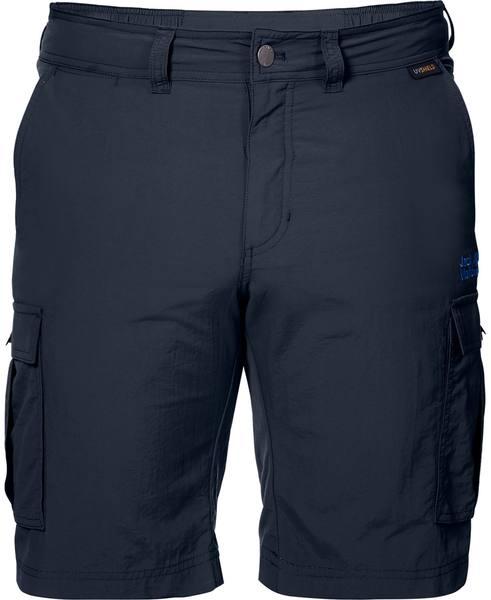 Jack Wolfskin Canyon Cargo Shorts Dark Blue