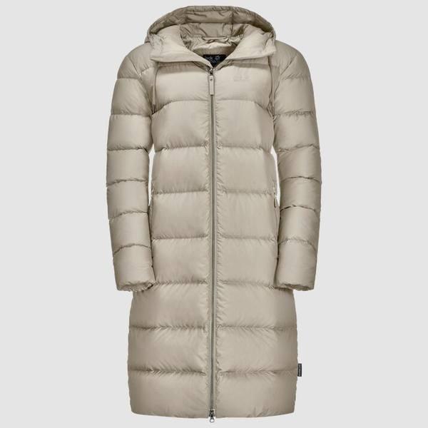 Jack Wolfskin Crystal Palace Coat Dusty Grey