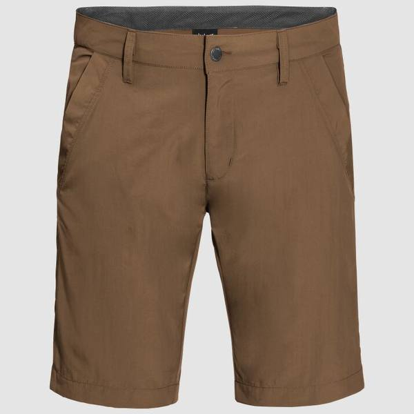 Jack Wolfskin Desert Valley Shorts Men Ruskea