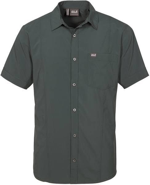 Jack Wolfskin Egmont Shirt M Dark Green