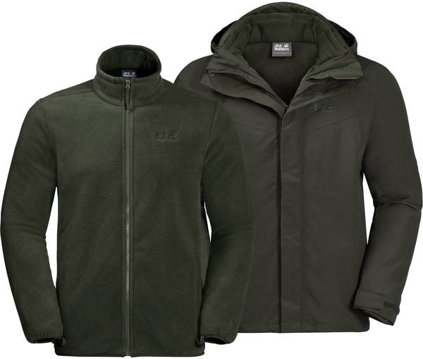 Jack Wolfskin Gotland 3In1 Men Malachite