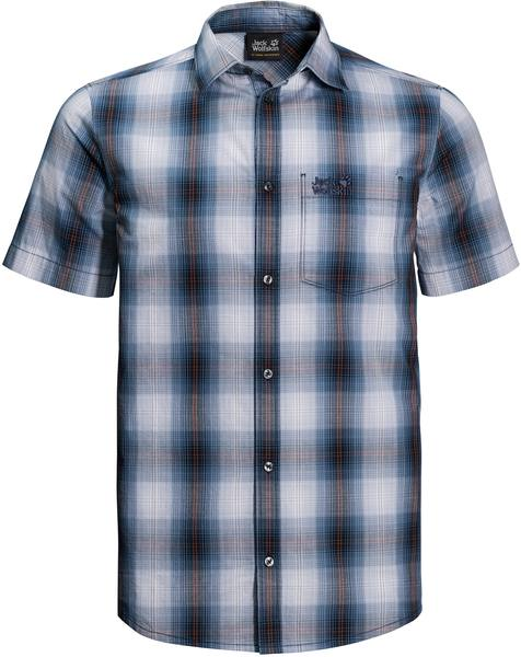 Jack Wolfskin Hot Chili Shirt M Dark Blue