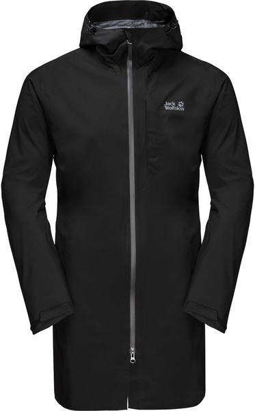 Jack Wolfskin JWP rain jacket black