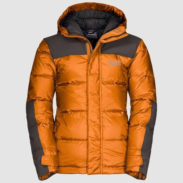 Jack Wolfskin Mountain Cook Jacket Kids Oranssi