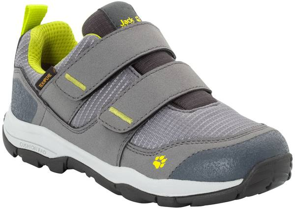 Jack Wolfskin Mtn Attack 3 Texapore Low Vc K Grey / Lime