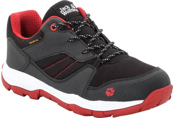 Jack Wolfskin Mtn Attack 3 Xt Texapore Low K Black / Red