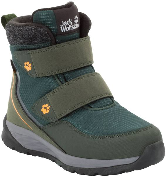 Jack Wolfskin Polar Bear Texapore Mid Vc K Dark Green / Grey