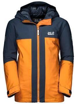 Jack Wolfskin Powder Mountain Jacket Boys Oranssi