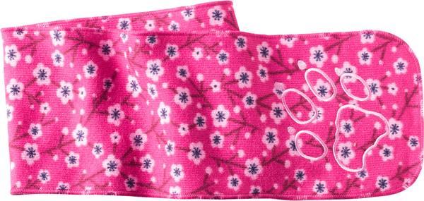 Jack Wolfskin Print Scarf Kids Pink Fuchsia Allover