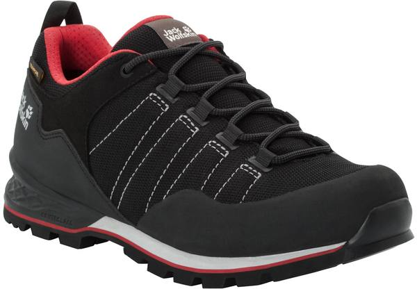 Jack Wolfskin Scrambler Lite Texapore Low M Black / Red