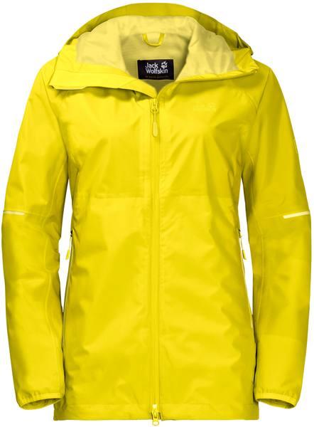 Jack Wolfskin Sierra Pass Jacket Women Yellow