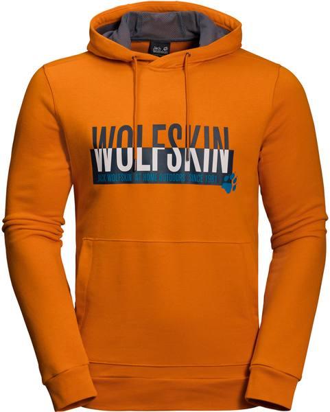Jack Wolfskin SLOGAN HOODY M Kapuzenpullover