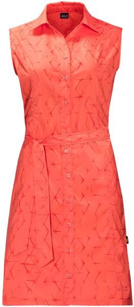 Jack Wolfskin Sonora Shibori Dress Coral